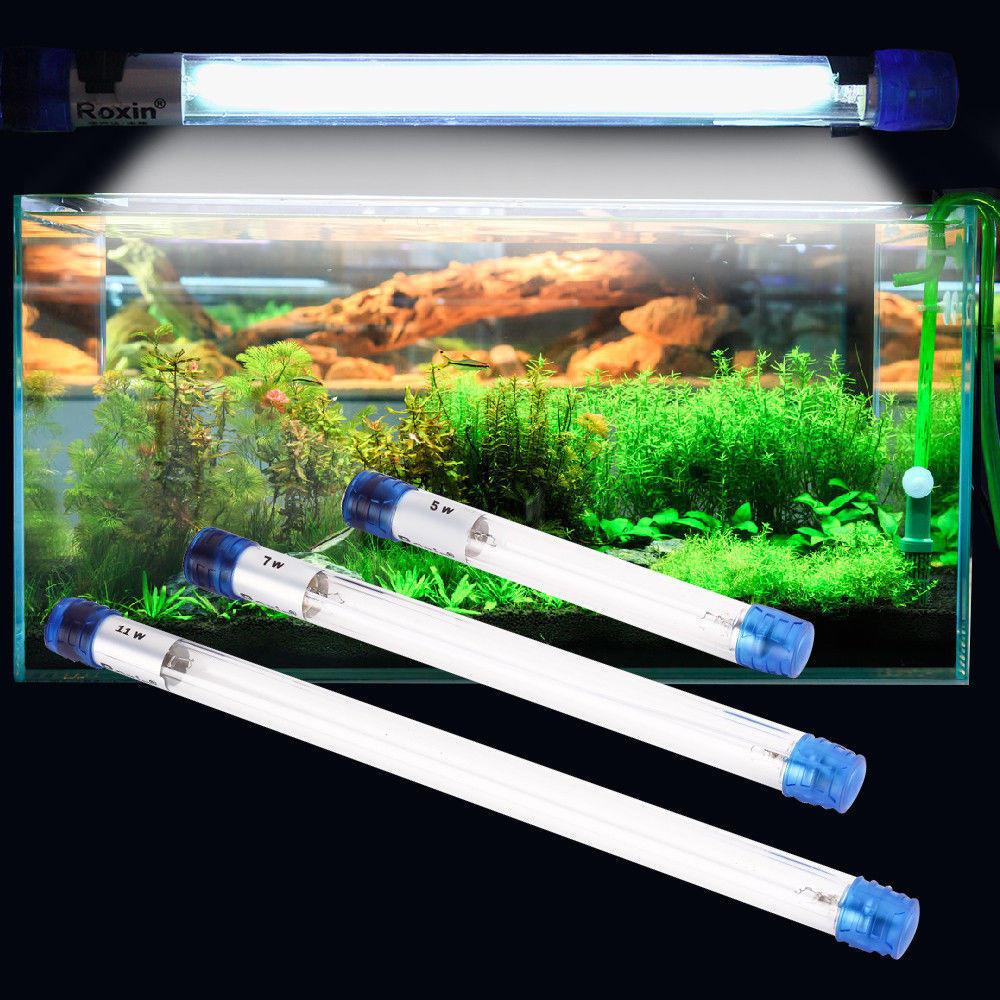 5W 7W Aquarium Ultraviolet Sterilizer Light Fish Tank Water Clean Lamp AC110V / AC220V