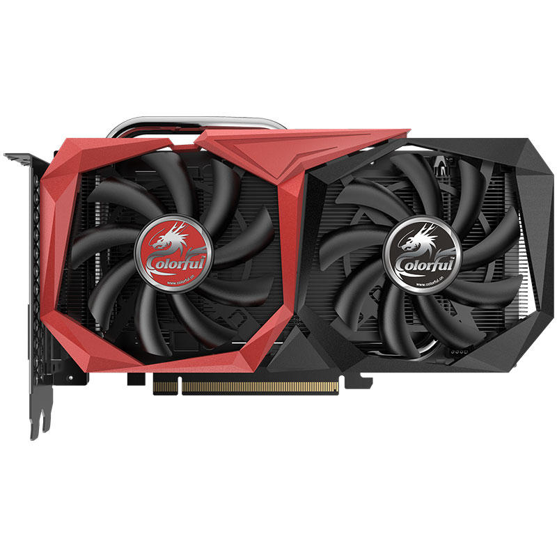 Colorful® GeForce GTX 1660 6GB GDDR5 192Bit 1785MHz 8Gbps Gaming Graphics Card фото