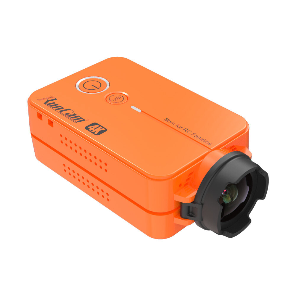RunCam 2 4K Edition HD Recording 155 Degree Wide Angle WiFi FPV Camera 49g With Replaceable Battery For RC Drone Airplan