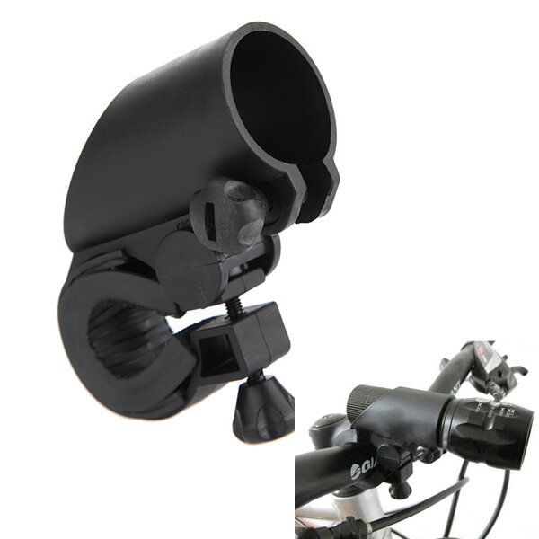 LED Flashlight Mount Holder for Bicycle Riding 2.2cm to 2.7cm (Flashlight Accessories фото
