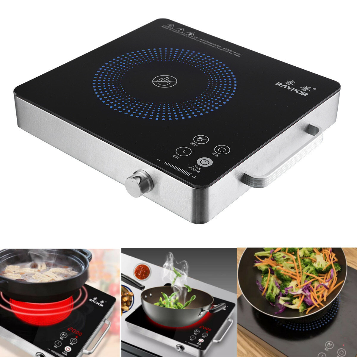 2200w Electric Induction Cooker Cooktop