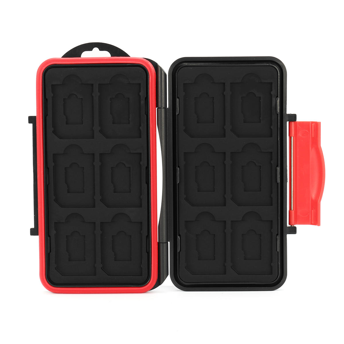 Anti-Shock Memory Card Case Storage Holder Box for 12xSD 12xTF Card