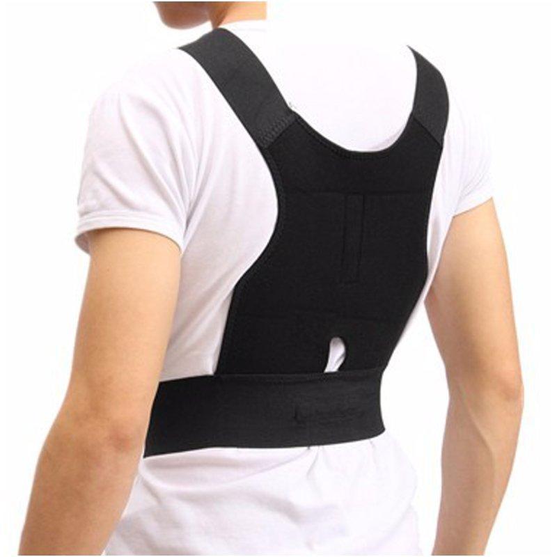 Điều chỉnh trở lại Hỗ trợ tư thế Corrector Belt Belt Shoulder Lumbar Brace