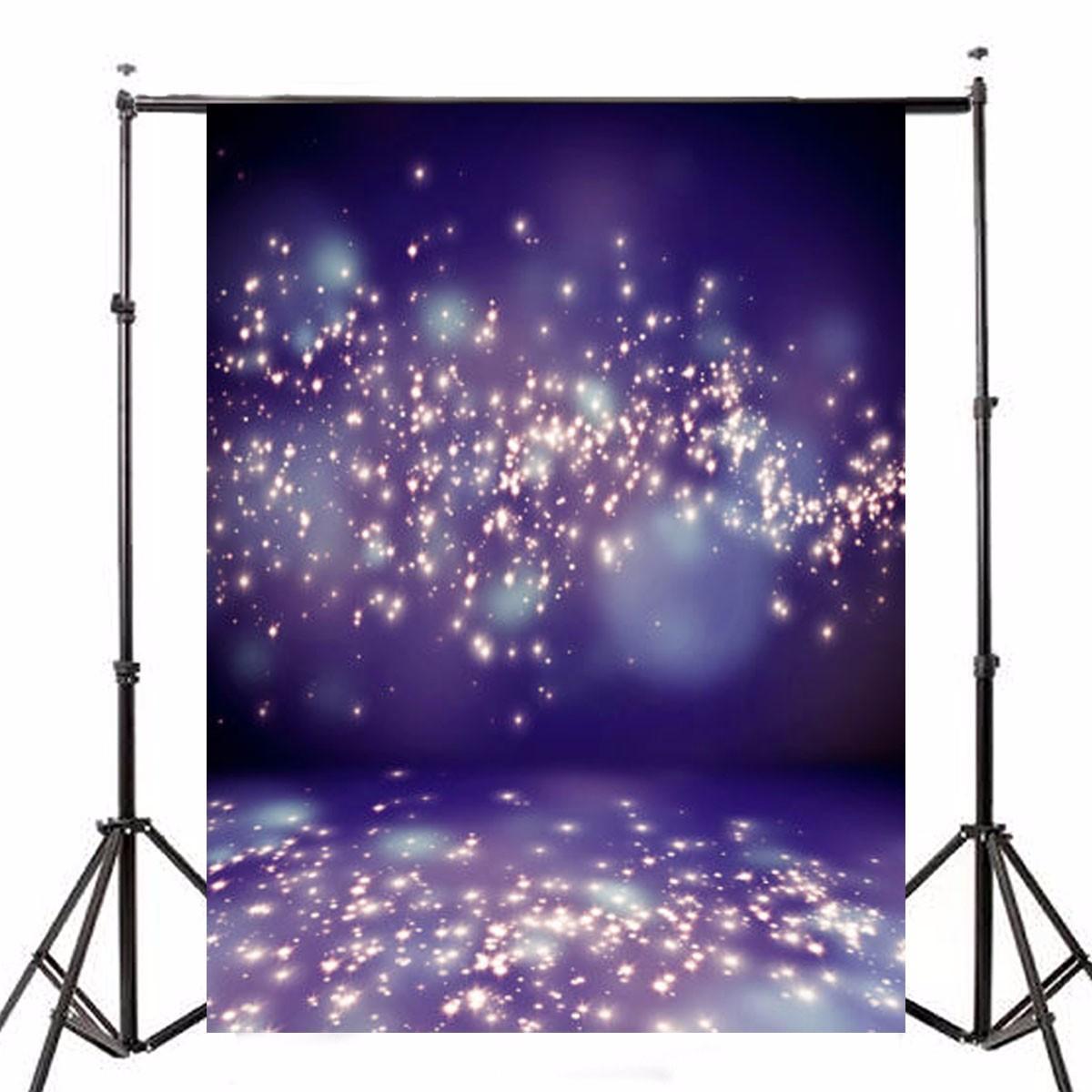 5x7ft Purple Fantasy Halo Backdrop Studio Vinyl Photography Background Backdrops