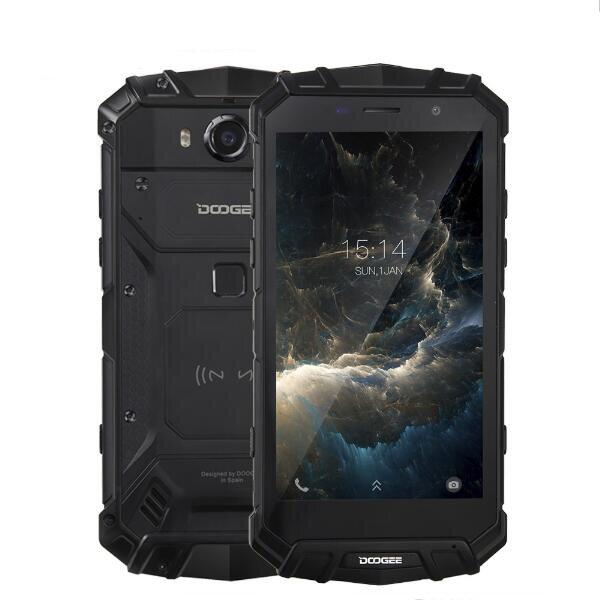 DOOGEE S60 5.2 Pouces Sharp IP68 6Go RAM 64Go ROM MTK Helio P25 Octa Core 2.5GHz 5580mAh 4G Smartphone