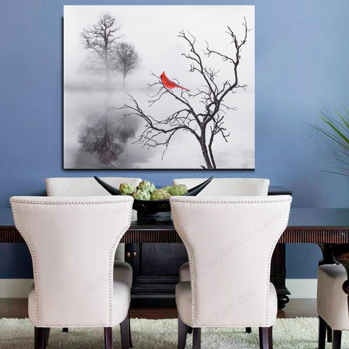 Modern Bird Wall Sticker Print Canvas Painting Picture Home Wall Art Decoration No Frame