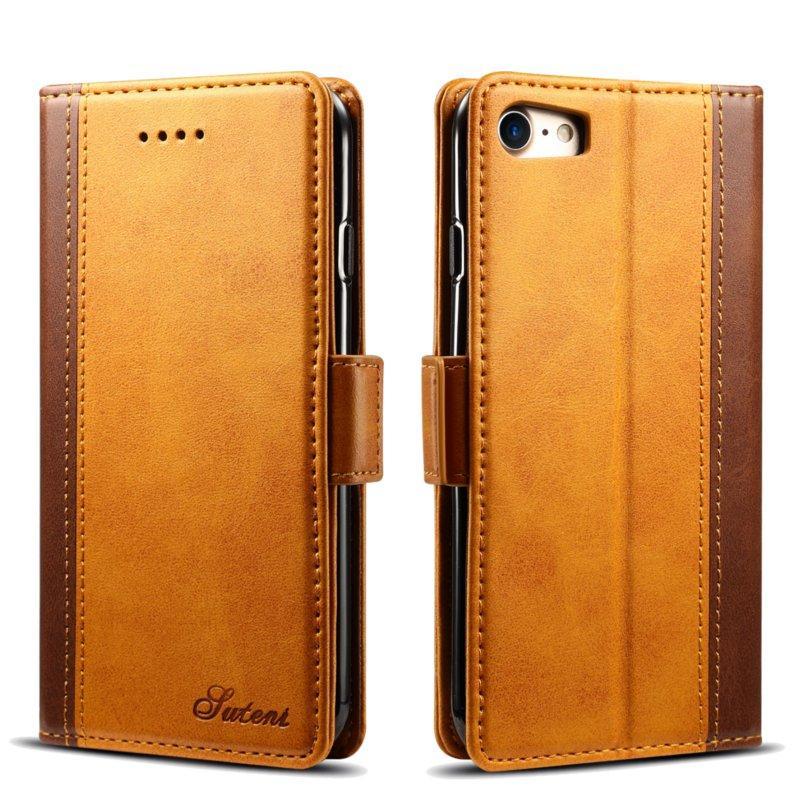 """Bakeey Hybrid Color Wallet Card Sots Kickstand Veske Til iPhone 7/8 4.7 """""""