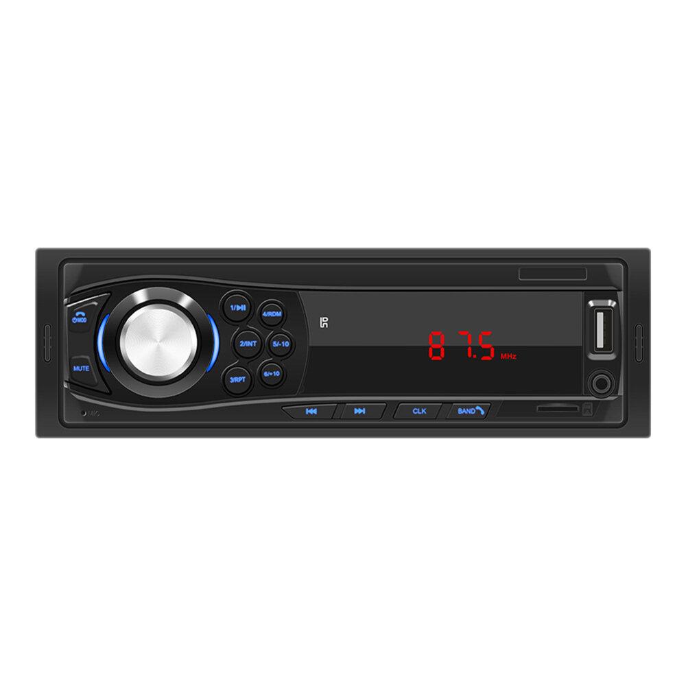 1028 1Din Car Radio MP3 Player FM bluetooth USB AUX TF Card 12V Auto FM Receiver With Remote Control