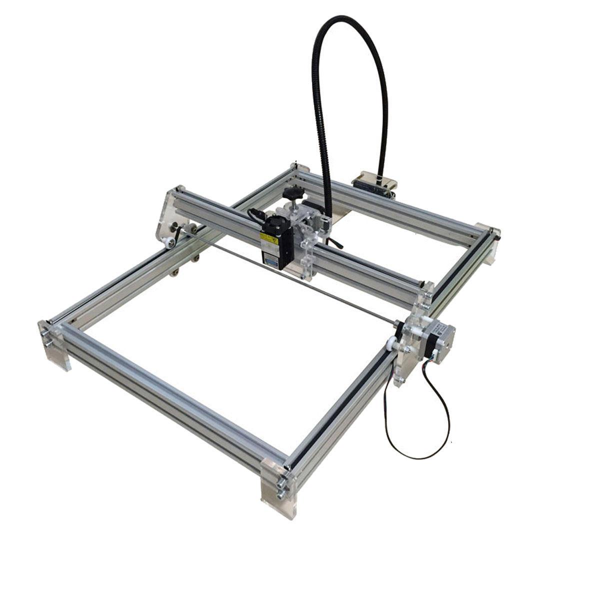 7000mW CNC Laser Graveur Cutter Laser Machine De Gravure DIY Logo Marque Imprimante Machine Kit Partie