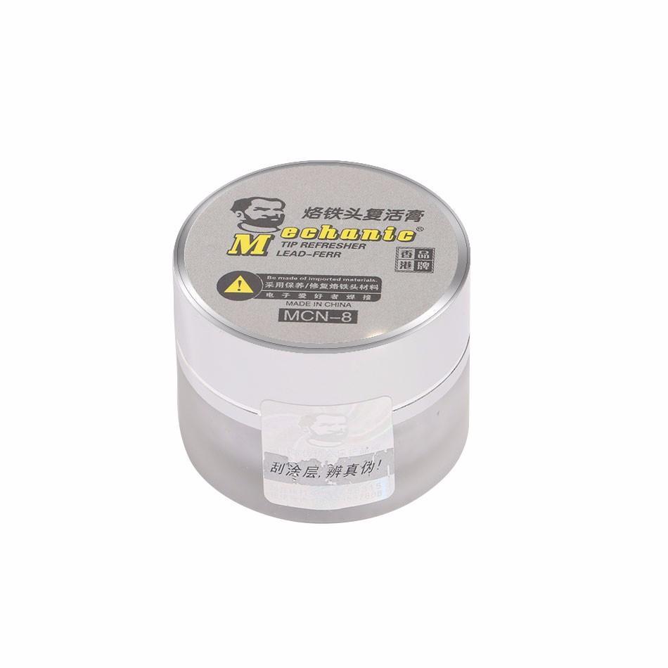 MECHANIC MCN-8 Пайка Очищающая паста для освежения железных наконечников Оксид Припой Ремонт для восстановления железных