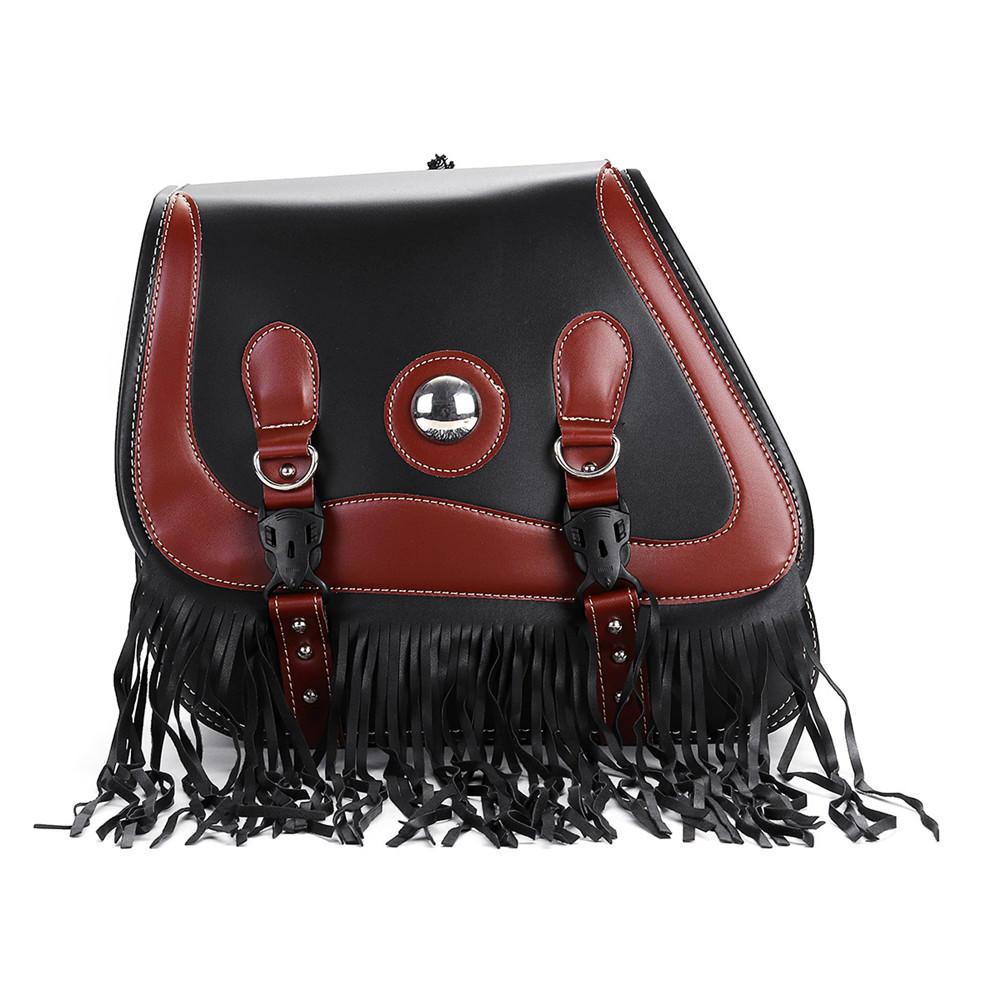 Motorcycle Tool Bag >> Universal Waterproof Pair Pu Leather Motorcycle Tool Bag Storage Luggage Saddlebags
