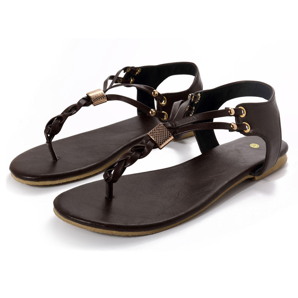 US Size 5-12 Women Casual SoftMetal Beach Sandals, Banggood  - buy with discount
