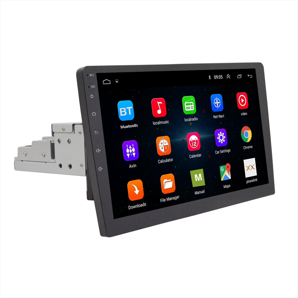 10.1 Inch 1Din for Android 8.0 Car MP5 Player Radio Stereo 2G+32G 8 Core GPS Wifi Rotation Adjustable Touch Screen FM AM