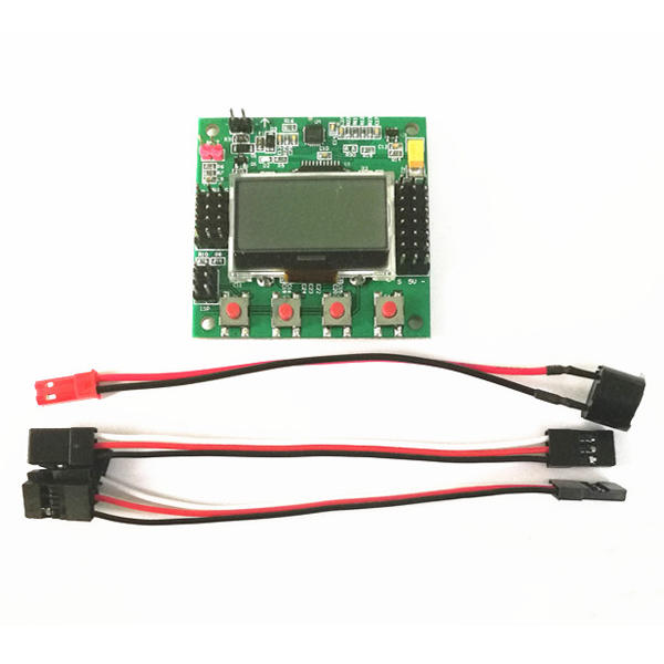 kk2 1 5 lcd flight control board v1 17s1pro 6050mpu 644pa for rc airplane  fpv racing drone cod