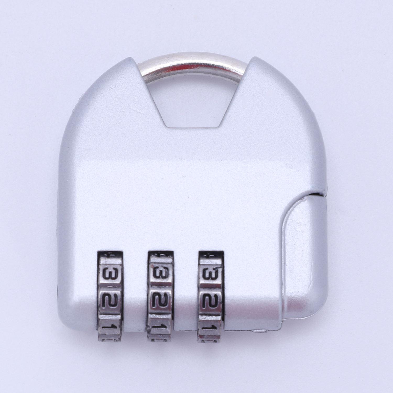 NEUE Kombination Dreieck Reise Koffer Gepäck Vorhängeschloss Passwortschloss Zink-Legierung Sicherheitsschloss Koffer Co