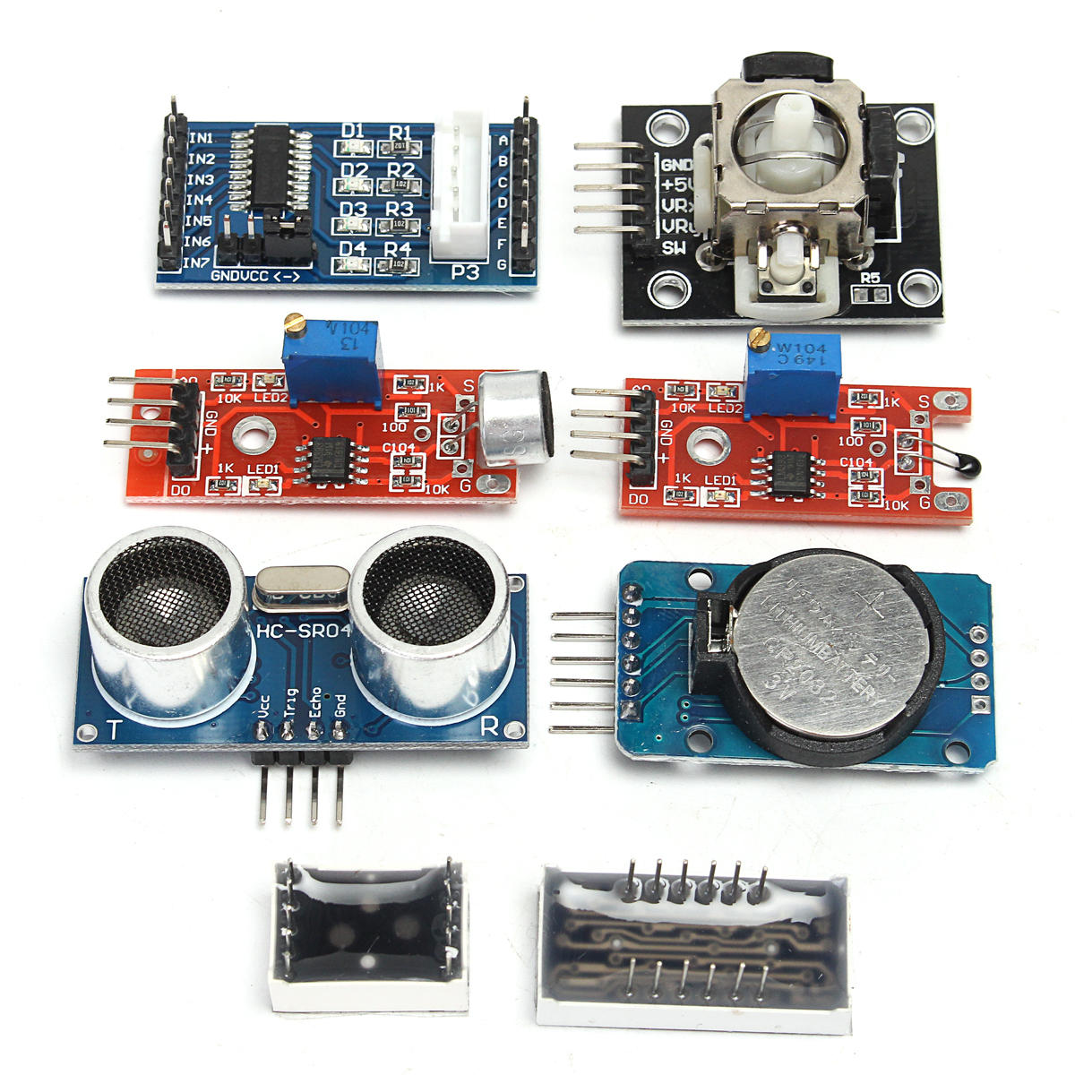 Ultimate Unor3 Starter With Stepper Servo Motor Relay Rtc