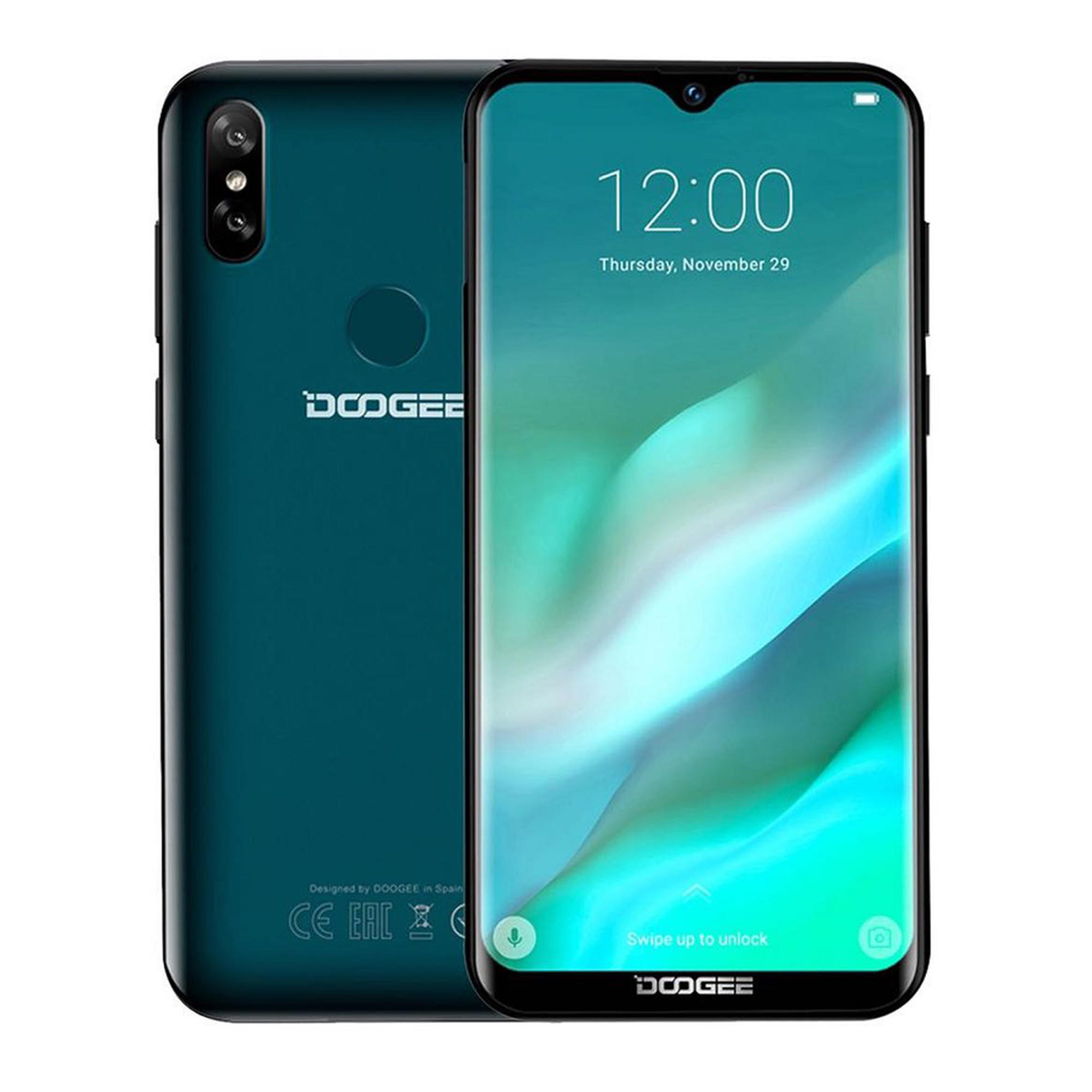 DOOGEE Y8 6 1 Inch HD Waterdrop Screen Android 9 0 3GB RAM 16GB ROM MT6739  Quad Core 4G Smartphone