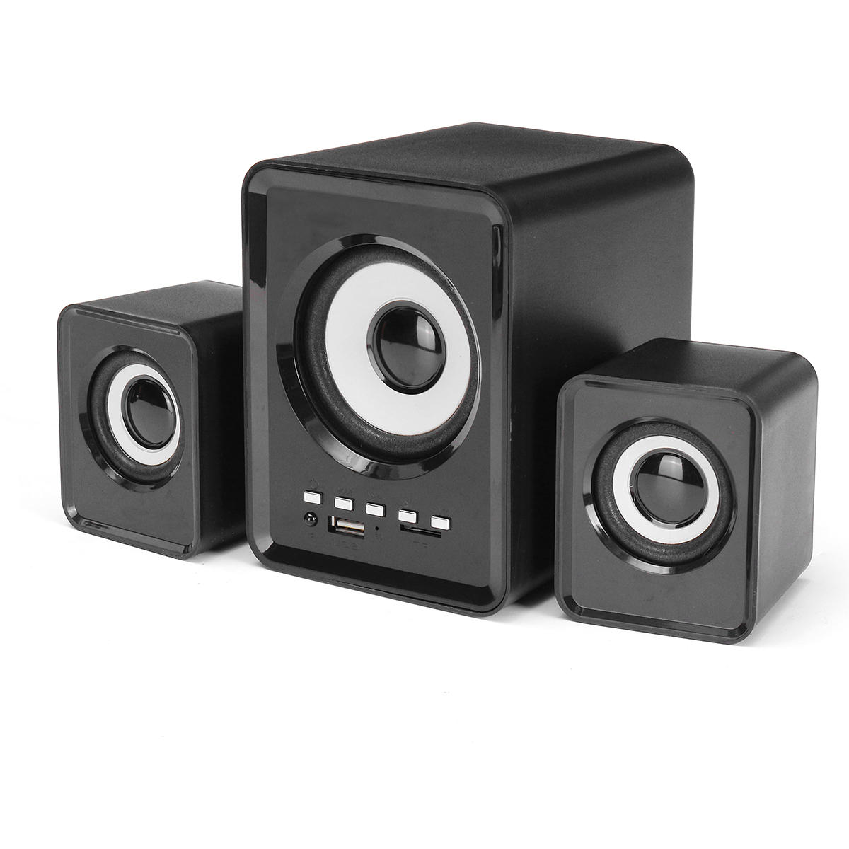 2.1 Computer Speaker Wireless bluetooth Speaker Support TF Card USB Power Stereo Subwoofer
