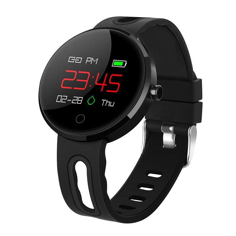 "XANES MC02 0.95"" OLED IP67 Waterproof Color Screen Blood Pressure Heart Rate Monitor Smart Watch"