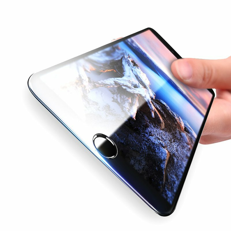 Bakeey 3D Soft Edge Carbon Fiber Tempered Glass Beskyttelsesfilm For iPhone 8 Plus