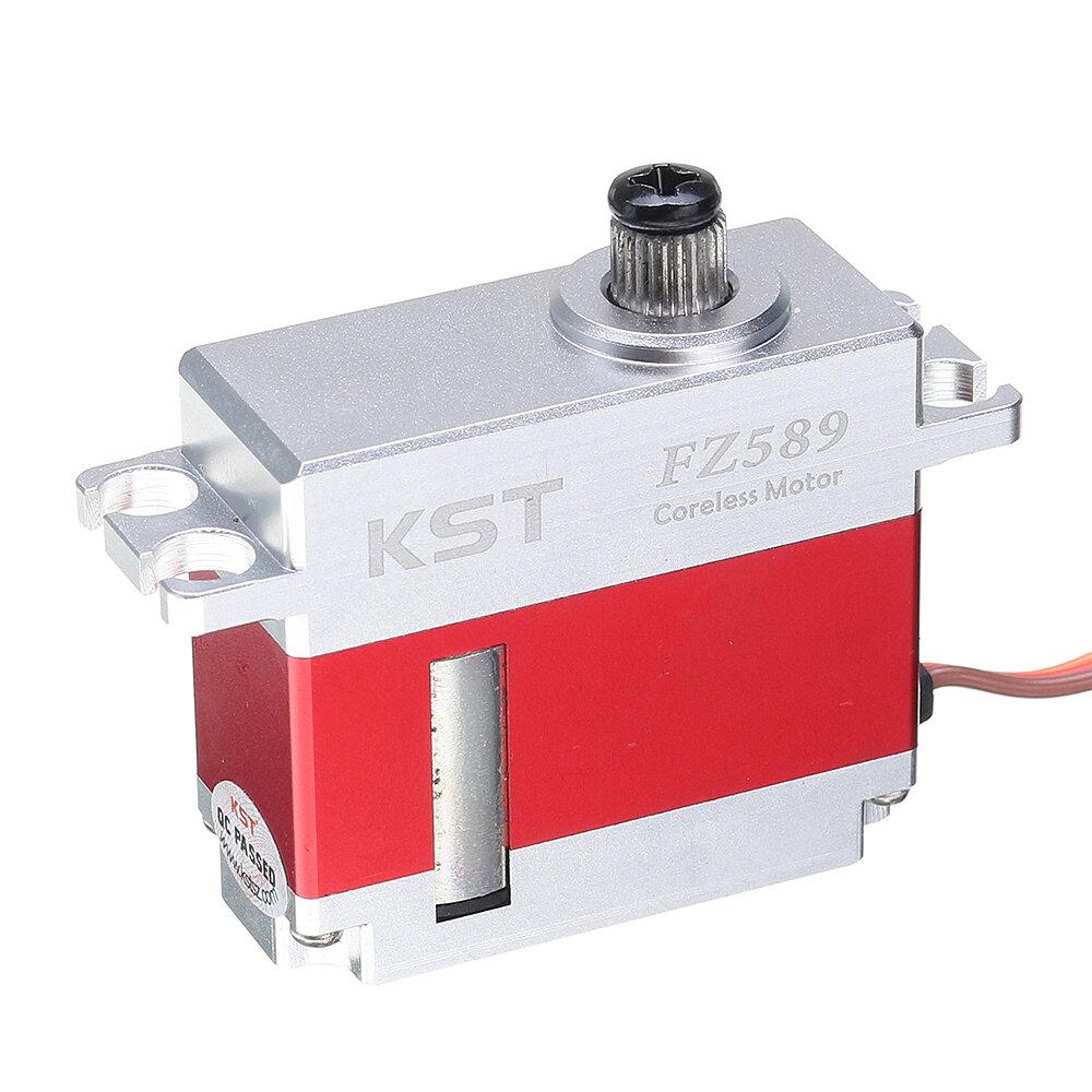 KST FZ589 Micro Digital Сервопривод 8KG Coreless Металлический редуктор для моделей RC