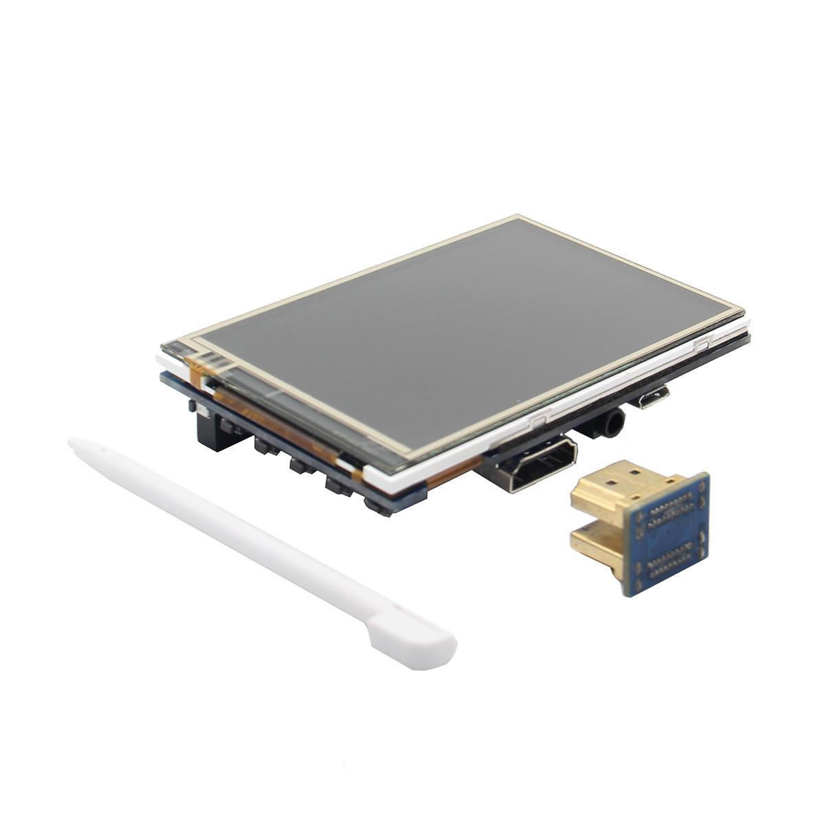 3.5 Inch 480x320@60Fps HD LCD Touch Screen For Raspberry Pi 3 Model B / 2B / Zero