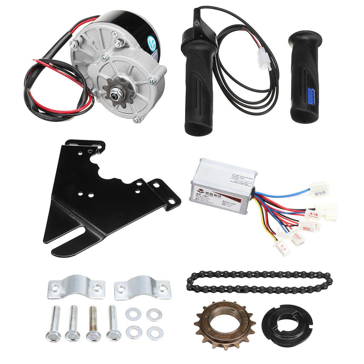 Equipo eléctrico del regulador de la vespa motor de la conversión de la bici de 24V 250W para la bici ordinaria 20-28inch