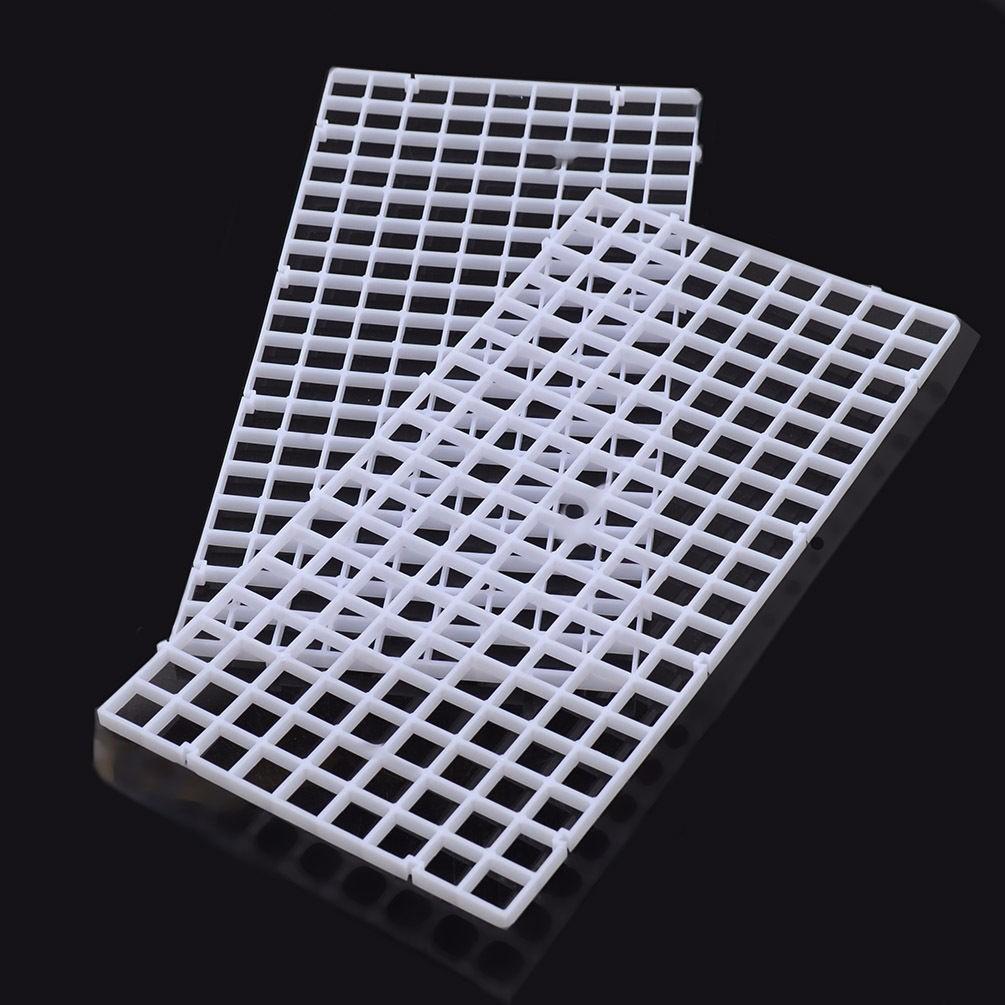 295×148×6mm Grid Divider Board Holder Net Tray Egg Crate Louvre Aquarium Fish Tank Isolation Filter