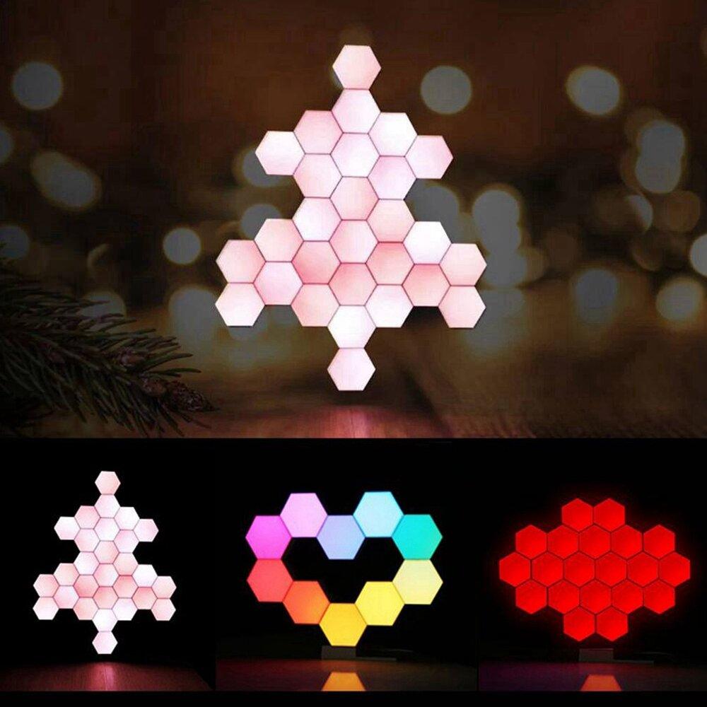 LifeSmart Creative Geometry Assembly Smart Control Home Panel Light Night Lamp