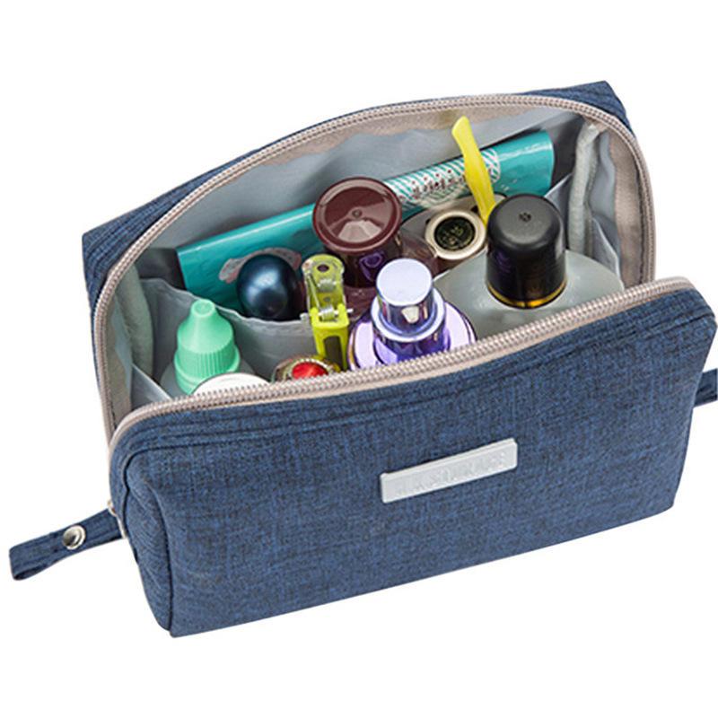 c3dc257aeabb IPRee® Portable Waterproof Cosmetic Wash Bag Women Make Up Storage Travel  Toiletry Pouch Organizer