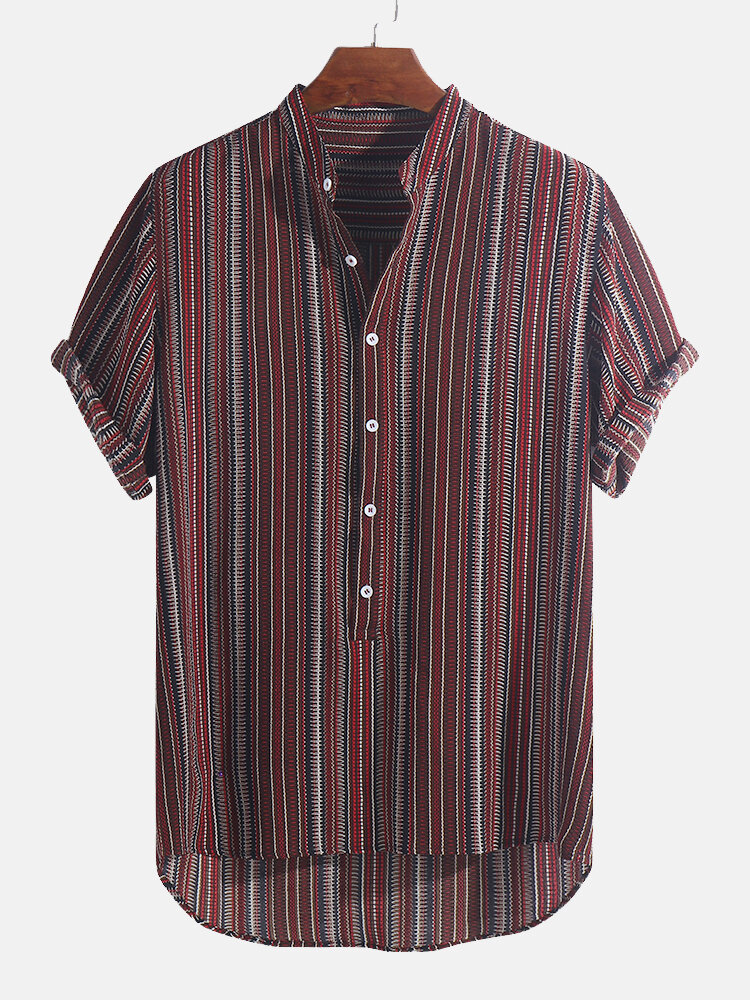 S-Fly Mens Breathable Regular Fit Leisure Western Plaid Button Down Shirts