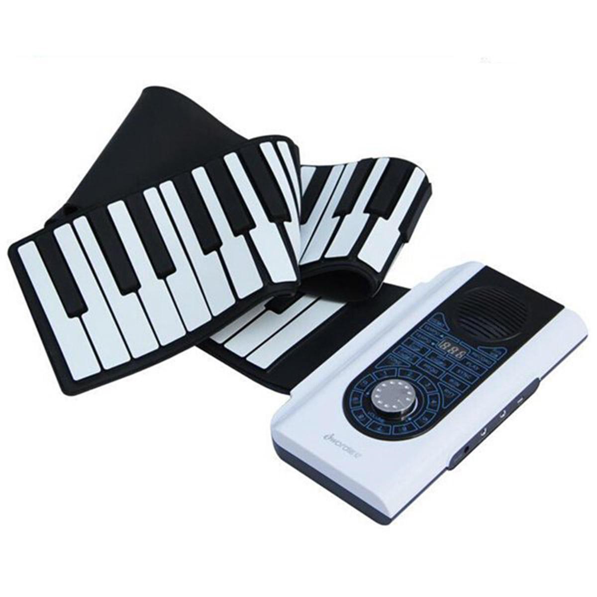 iWord Pianoforte Avvolgibile Professionale con 88 Tasti con Tastiera MIDI