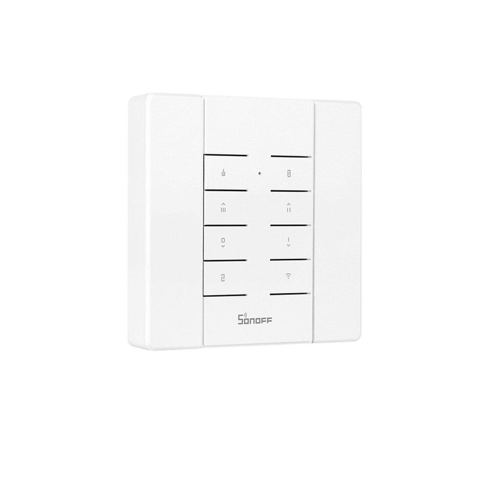 SONOFF® RM433 8 מקשים רב תכליתי מותאם אישית 433 MHz RF שלט רחוק עם בורר עובד עם סונוף RF / RFR3 / Slampher / iFan03 / 4CHProR2 / TX סדרה / 433 גשר RF