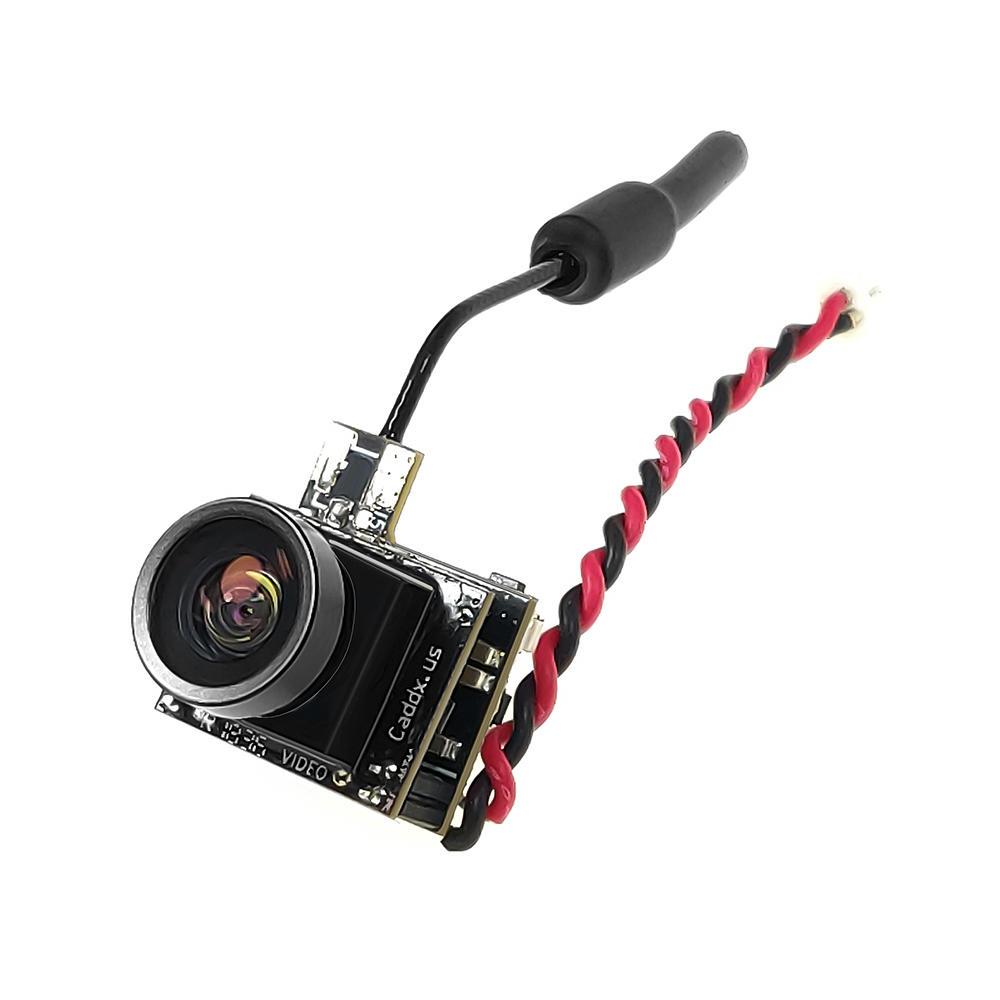 Caddx Beetle V1 5.8Ghz 48CH 25mW CMOS 800TVL 170 Degree Mini FPV Camera AIO LED Light For RC Drone