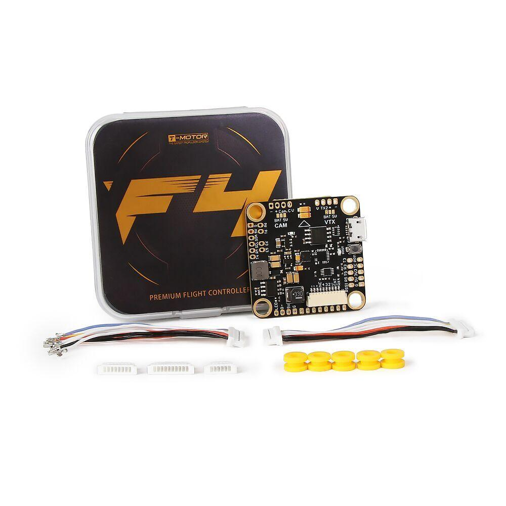 T-Motor F4 Premium Flight Controller AIO OSD 5V BEC Support TBS Nano Receiver for RC Drone FPV Racing