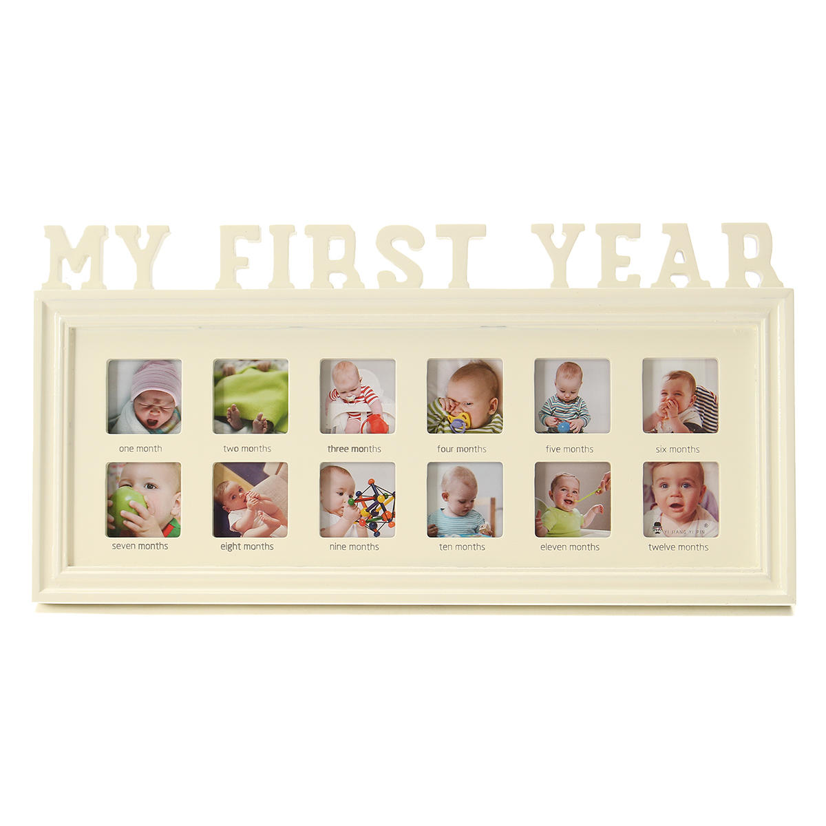 MY FIRST YEAR Photo Frame 12 Months Baby Multi Picture Display Anniversary Gift