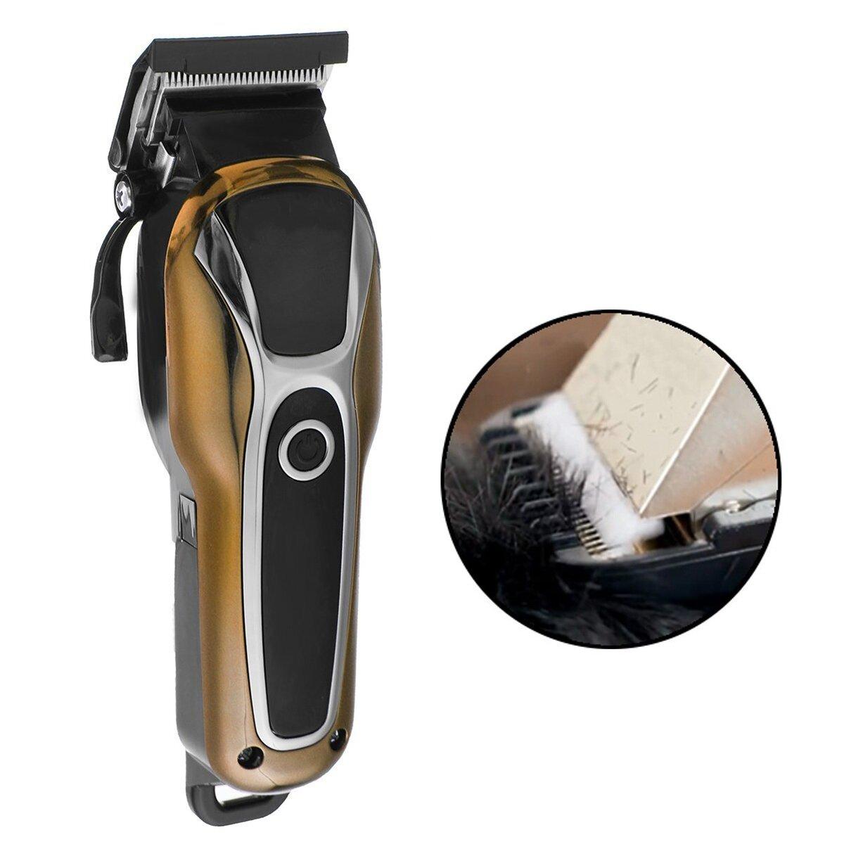 Surker SK-803 LCD Display Electric Hair Clipper High Power Detachable Head Cutting Comb