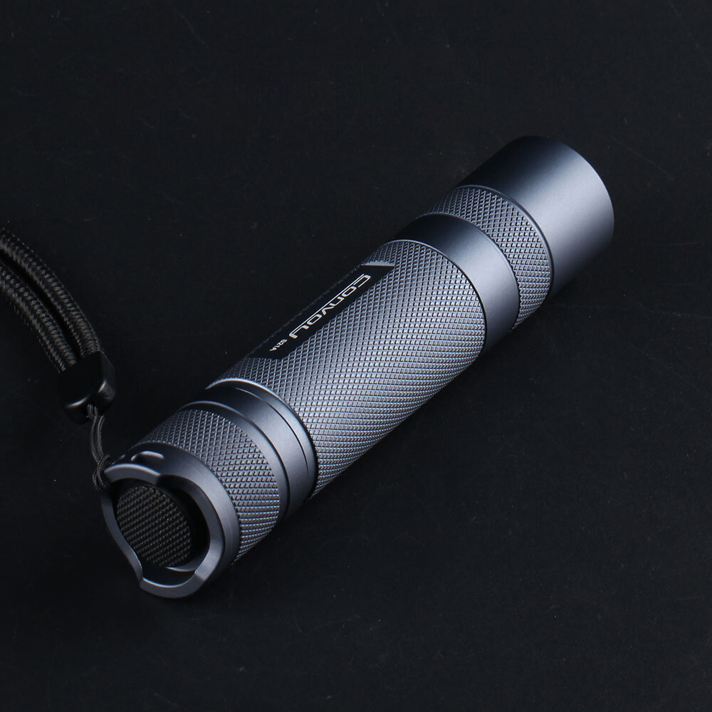 Convoy S21A 2300 Lumens Flashlight Copper DTP Board 18650 Battery 4 Modes Torch Light Camping Hunting Emergency Lamp