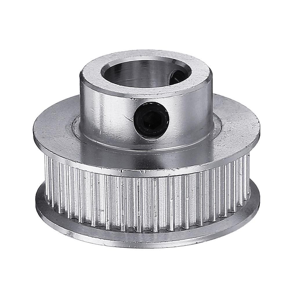 40T 10mm Bore 3D Printer GT2 Aluminum Timing Pulley for 6mm Width Belt