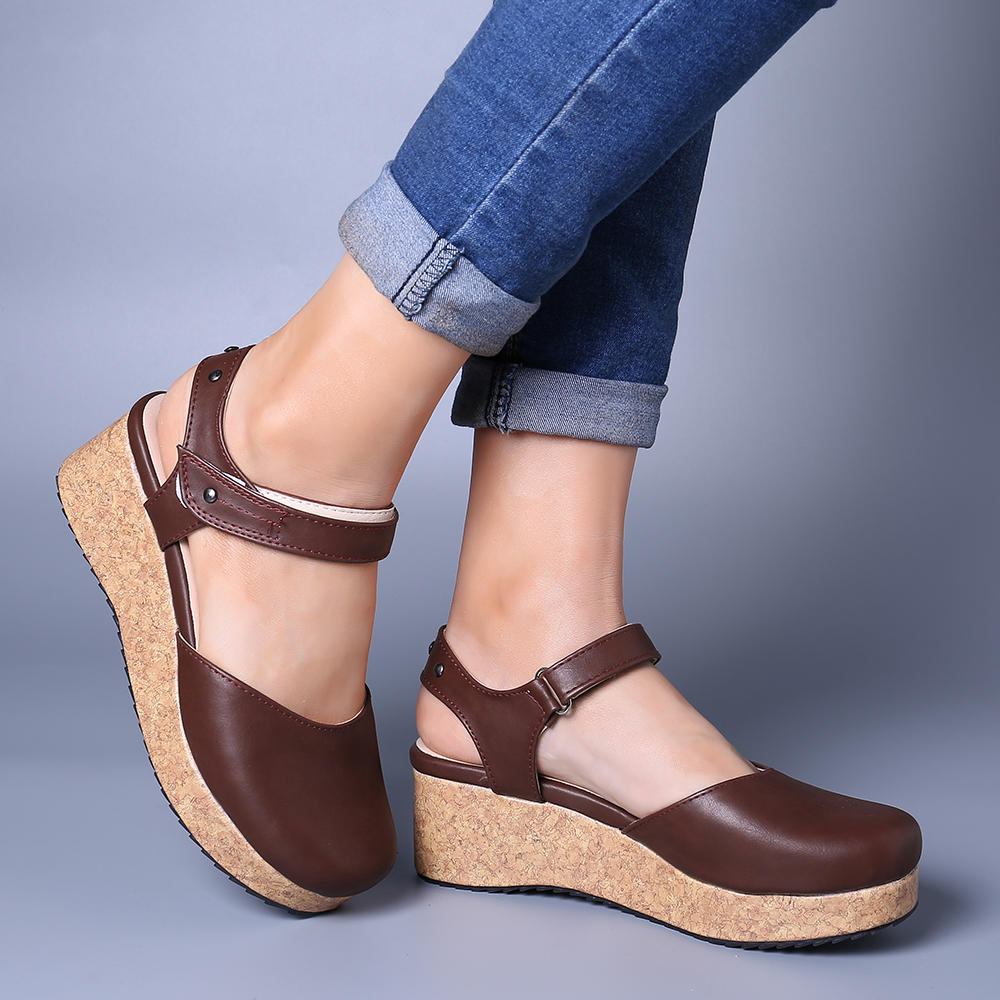 Large Size Women Fashion Casual Platform Sandals