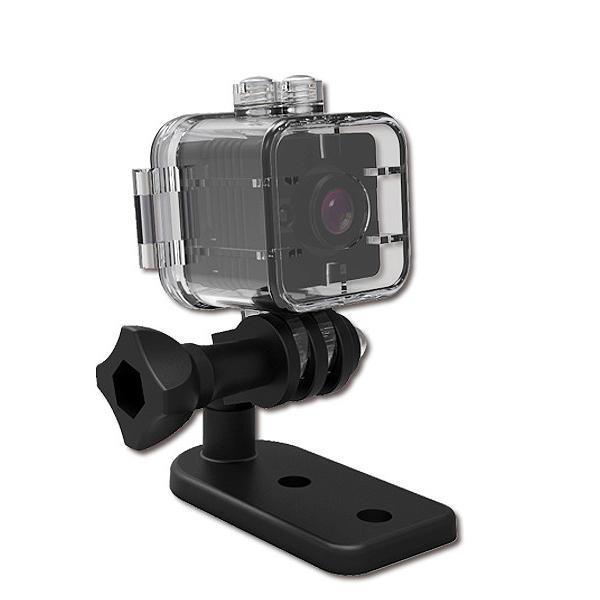 Quelima SQ12 Mini 1080P FHD Car DVR Camera with Waterproof Case Shell