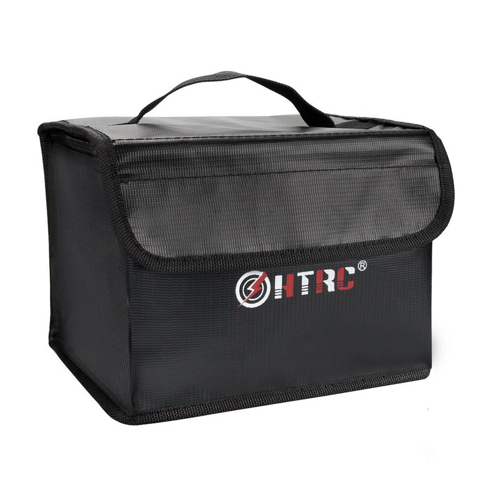 HTRC Fireproof Waterproof Lipo Battery Safety Charging Bag 21x16x16CM