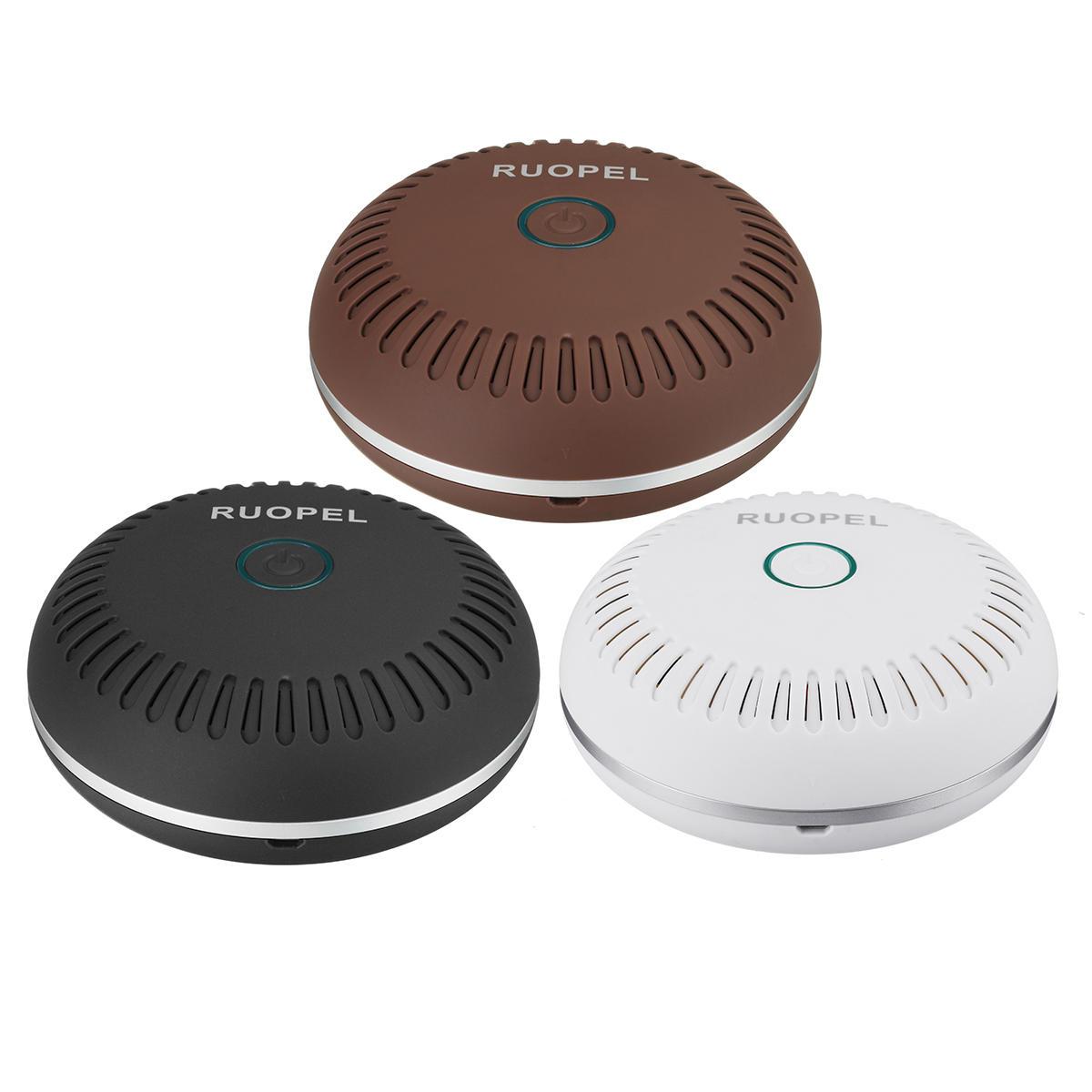 Car-Air-Purifier-with-HEPA-Filter-Mini-Travel-USB-Air-Cleaner-Freshener-Pretty фото