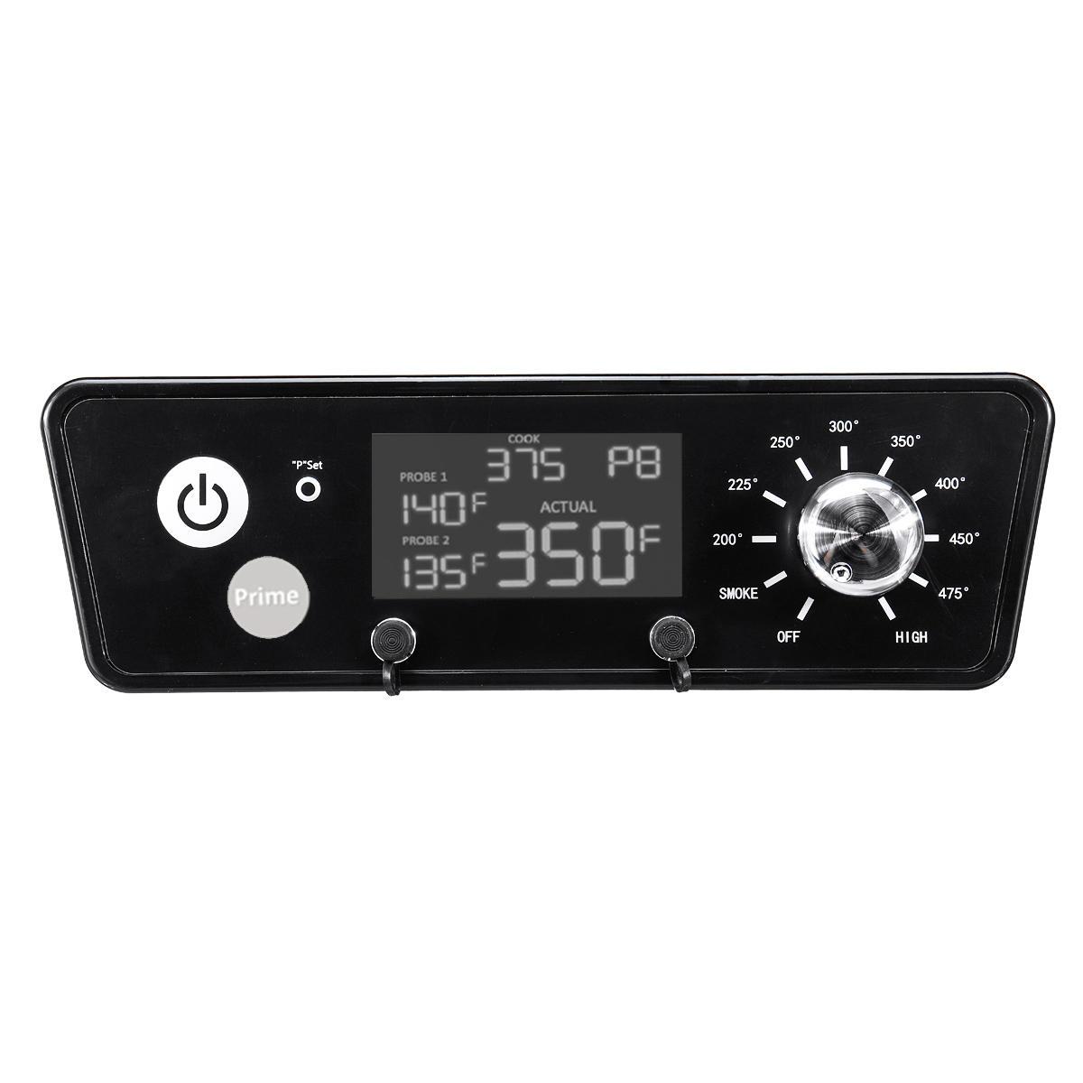 120 V P7-340 Digital Termómetro Tablero controlador termostato LCD Pantalla Para horno de leña PIT Boss