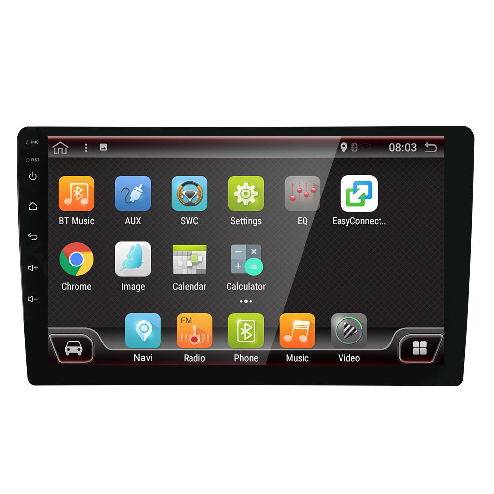 YUEHOO 9 Pollici 2 DIN per Android 9.0 Autoradio Radio 8 Core 4 + 32G Touch Screen 4G bluetooth FM AM RDS Radio GPS