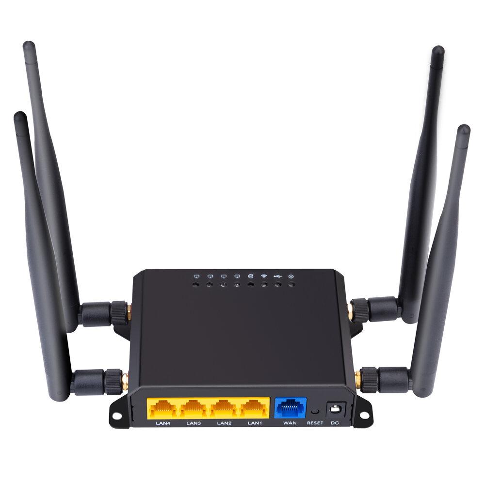 X10 Frequenza Europa e Asia Pacofic Australia Versione 4G LTE OPEN WRT Router CPE intelligente Carta Sim Modem wireless WiFi Router wireless Rete WiFi Supporto 300 Mbps AP wireless