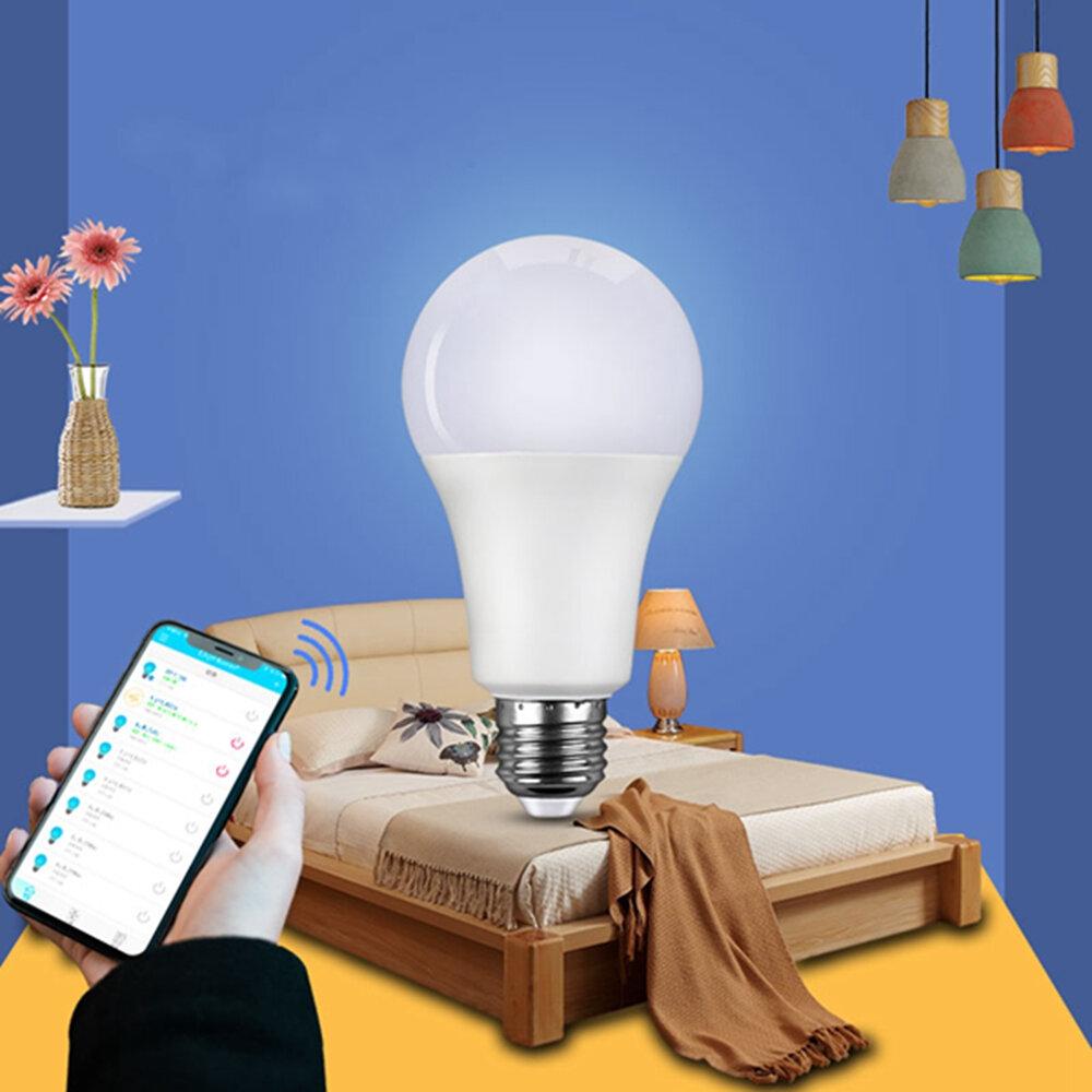 ARILUX® Dimmable E27 8W RGBW Smart LED Light Bulb Work With Apple HomeKit Alexa Google Assistant AC85-265V
