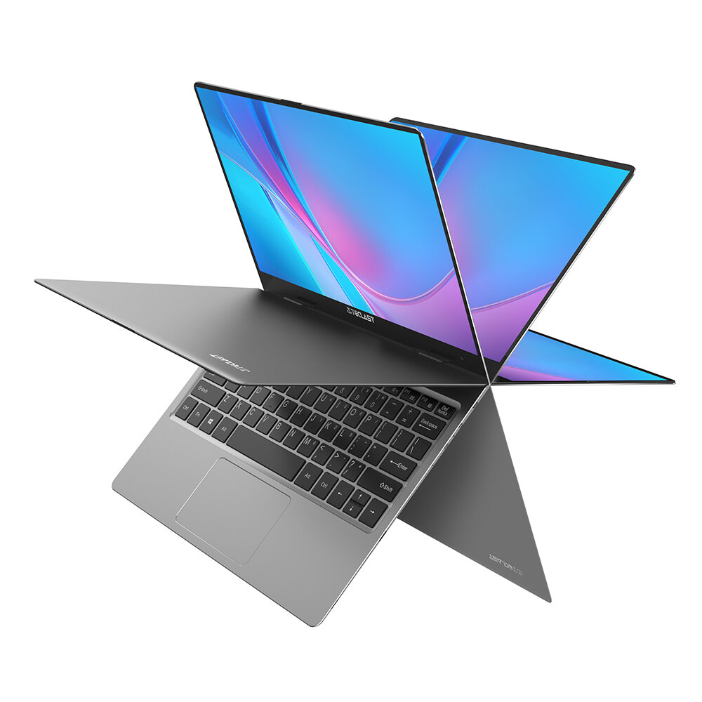 Teclast F5 Laptop 11.6 inch Touch Screen 360° Rotating Intel Gemini Lake N4100 8GB DDR4 256GB SSD Notebook - Grey