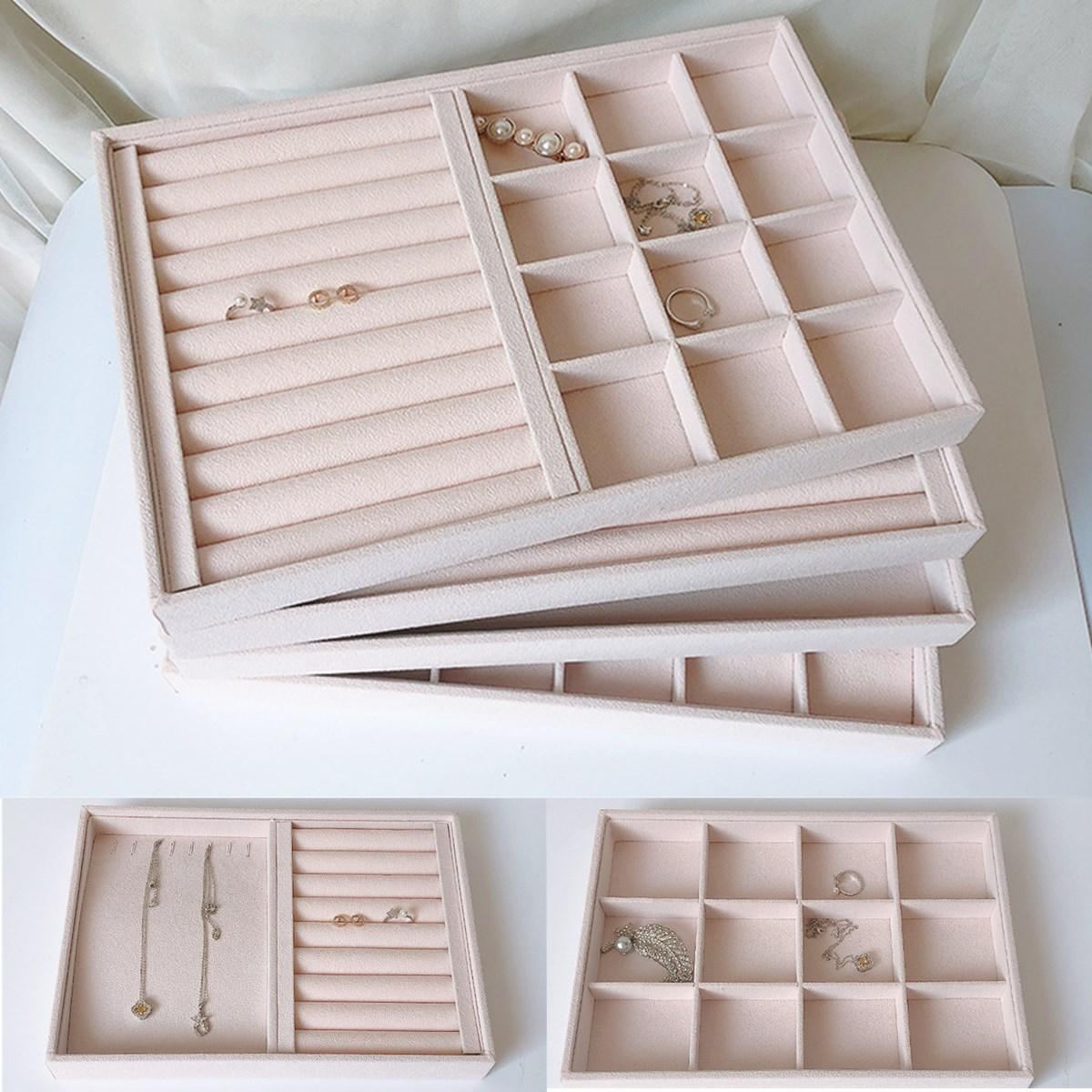 Picture of: Jewelry Display Organizer Box Storage Showcase Necklaces Earrings Ring Tray Sale Banggood Com