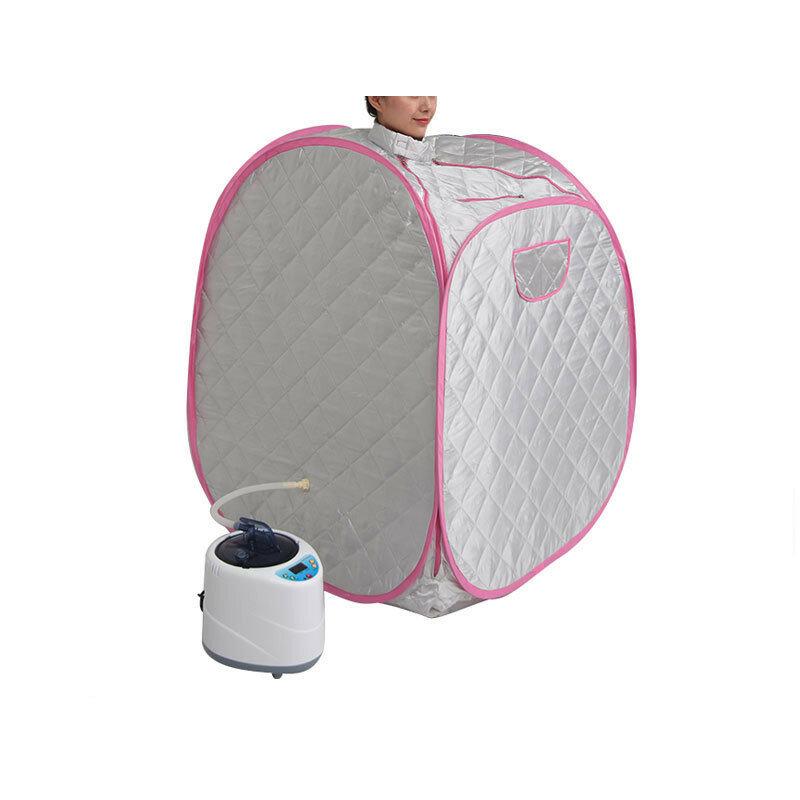iBeauty gratis uppblåsbar hushåll med ensvett ångbastu bastu ihopvikningsbox